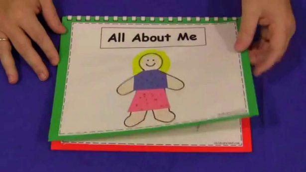 Обучение ребёнка с РАС: книга «Всё обо мне» своими руками