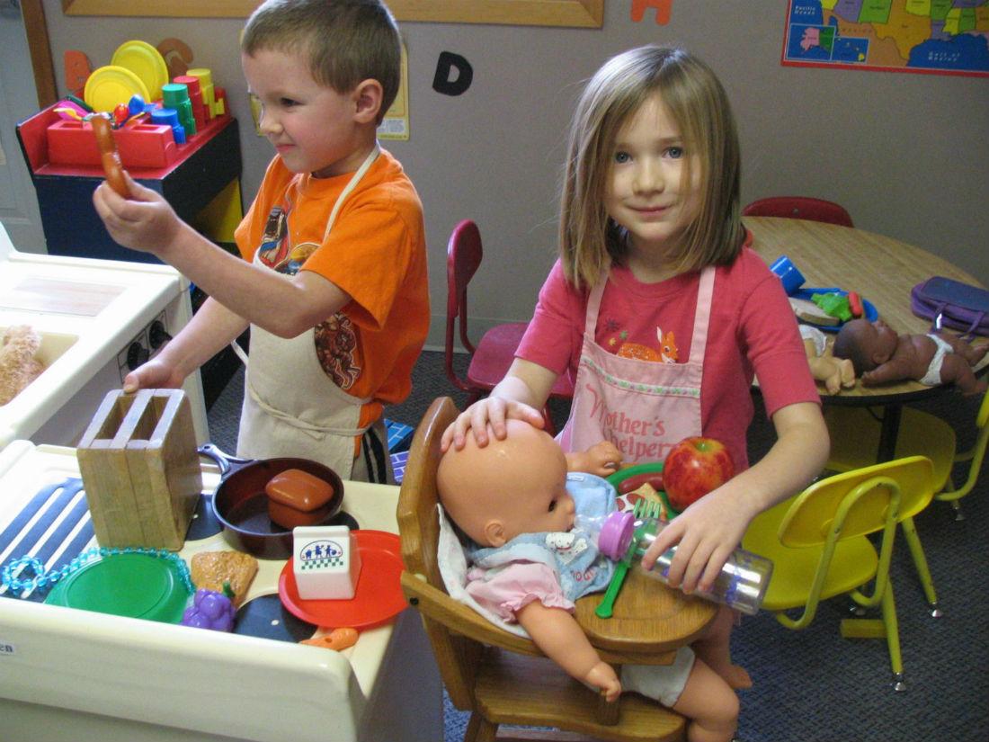 Структурированная игра для развития простых навыков у ребёнка с РАС