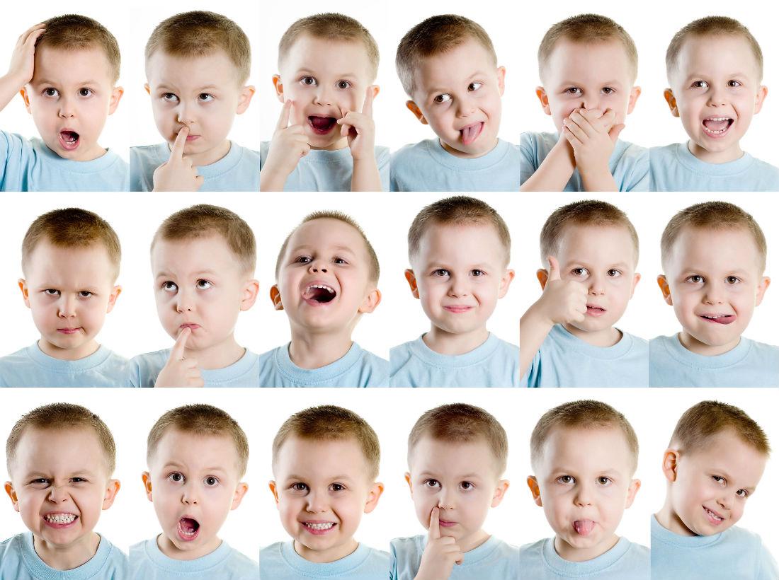 Как понять выражение лица: игры для детей с РАС